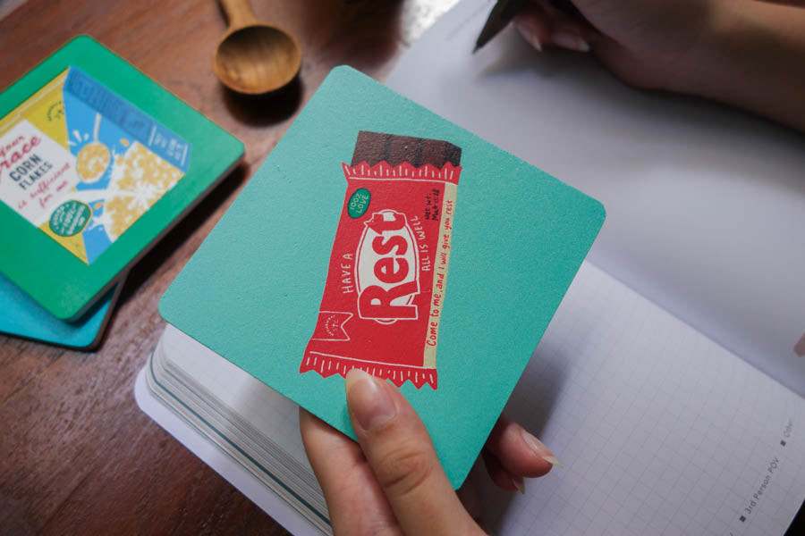 Rest Chocolate Bar | Coasters {LOVE SUPERMARKET}