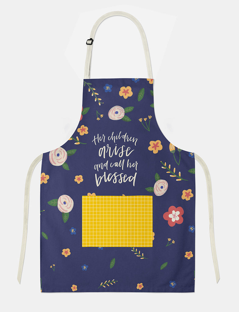 Apron gift idea for mum by the Commandment Co