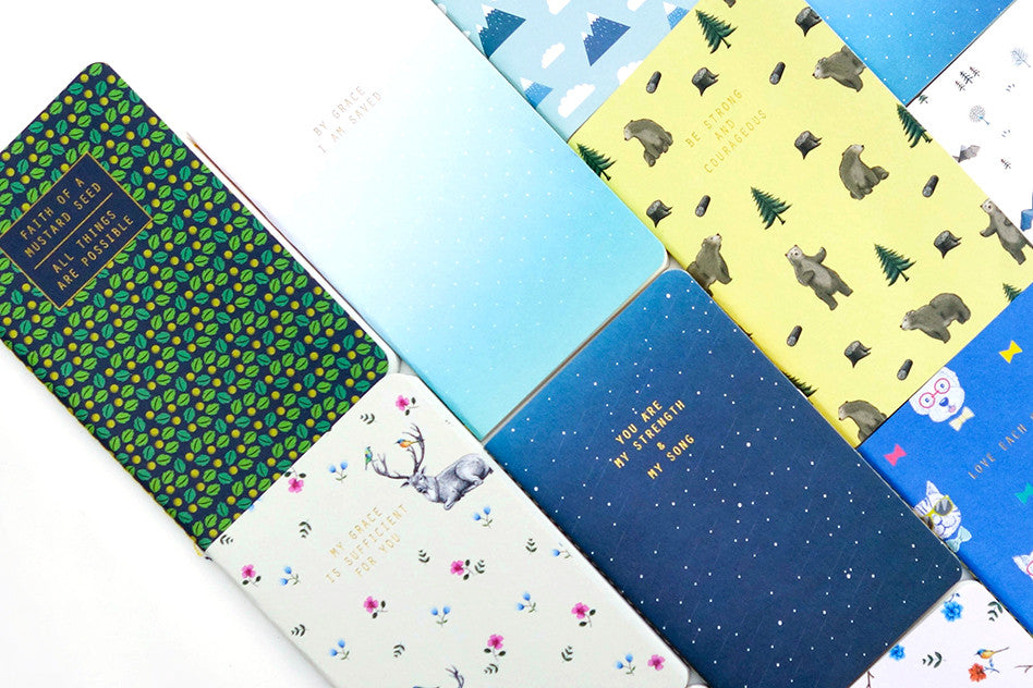12 pocket notebooks by hey new day
