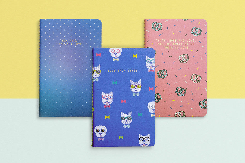 hey new day love series pocket notebook