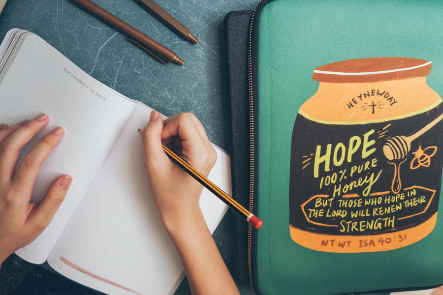 Hope Honey | Laptop Sleeve {LOVE SUPERMARKET}