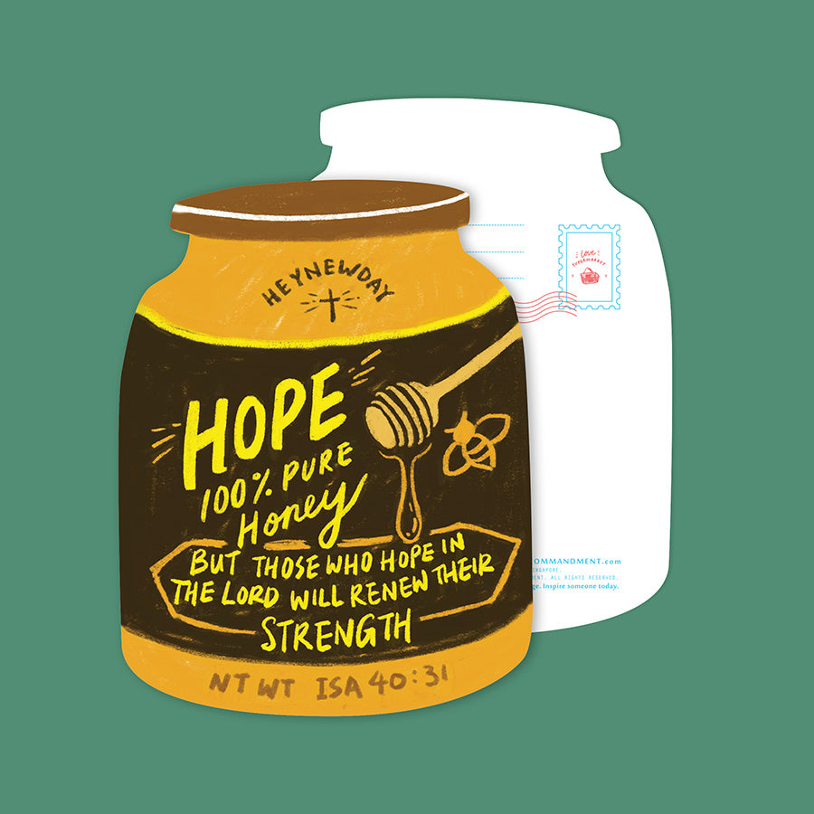 Hope Honey {LOVE SUPERMARKET Card}
