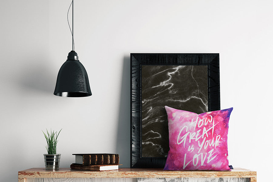 How Great is Your Love {Cushion Cover}