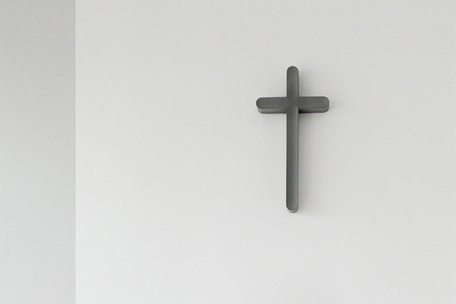 Contemporary wall cross design for Christian home decor by tcco