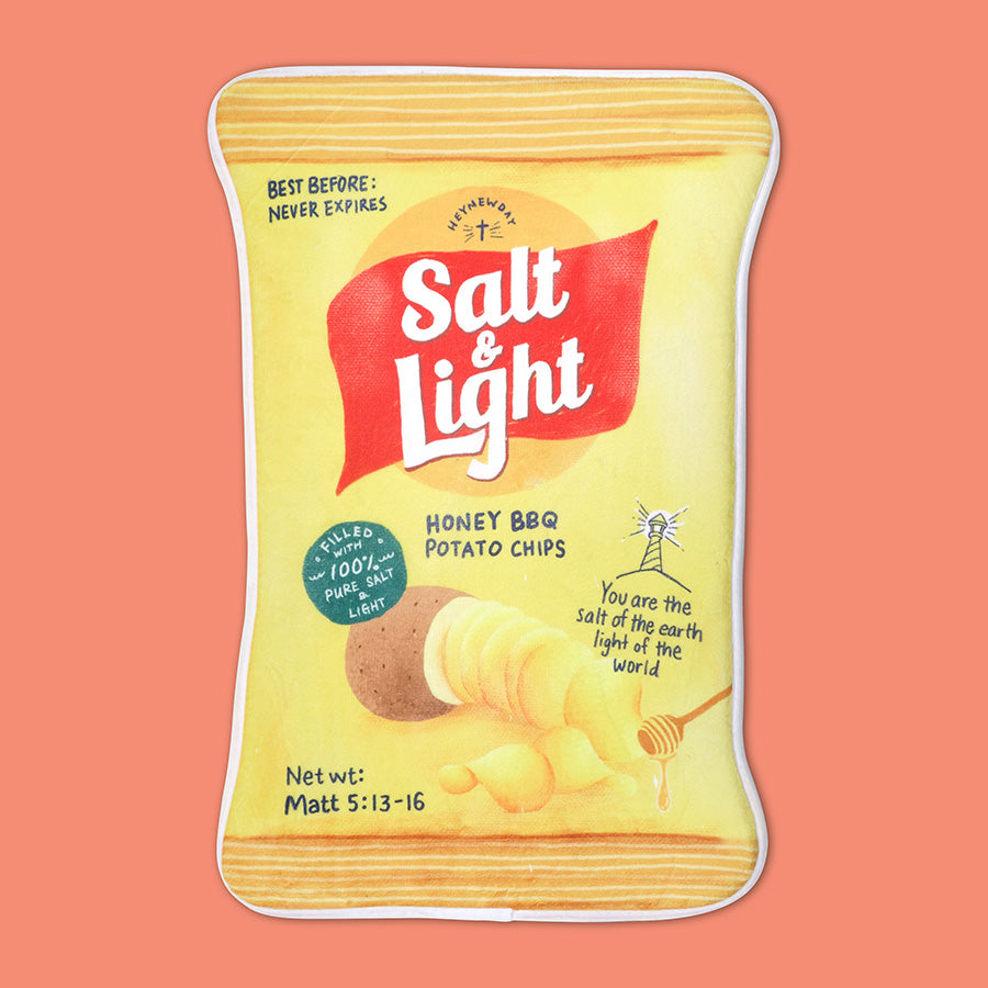 Potato Chips Salt And Light {Door Mat}