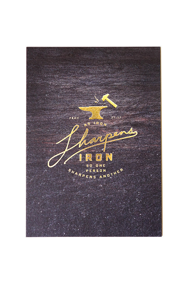 Iron Sharpens Iron {Card}