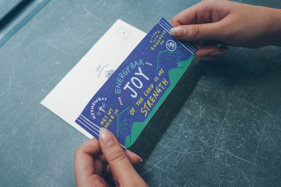 Joy Energy Bar {LOVE SUPERMARKET Card}