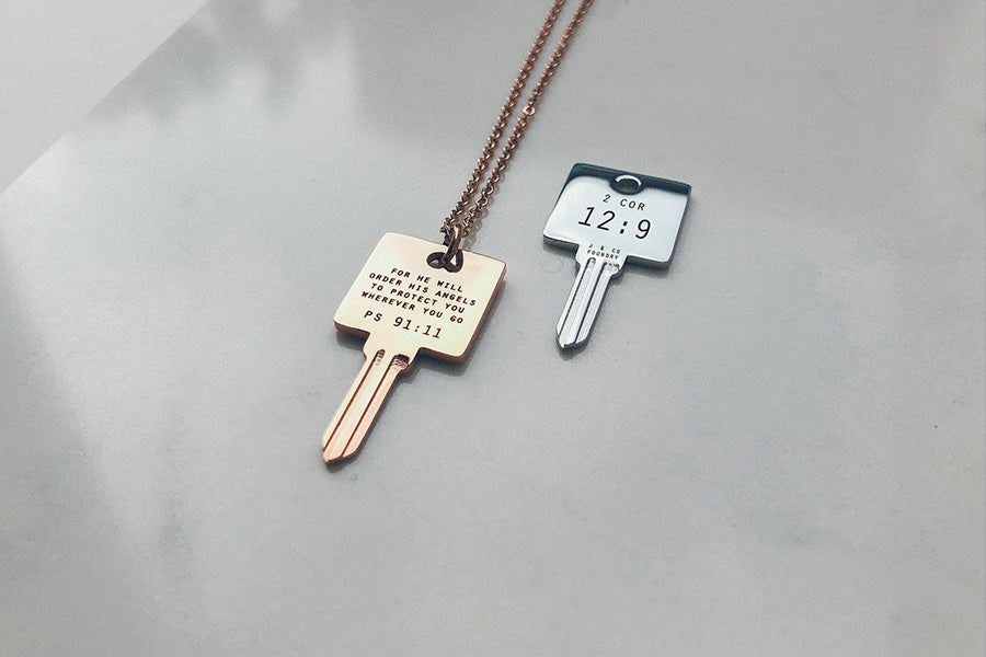 Valentine's Day Special - Key To My Heart {Necklace}