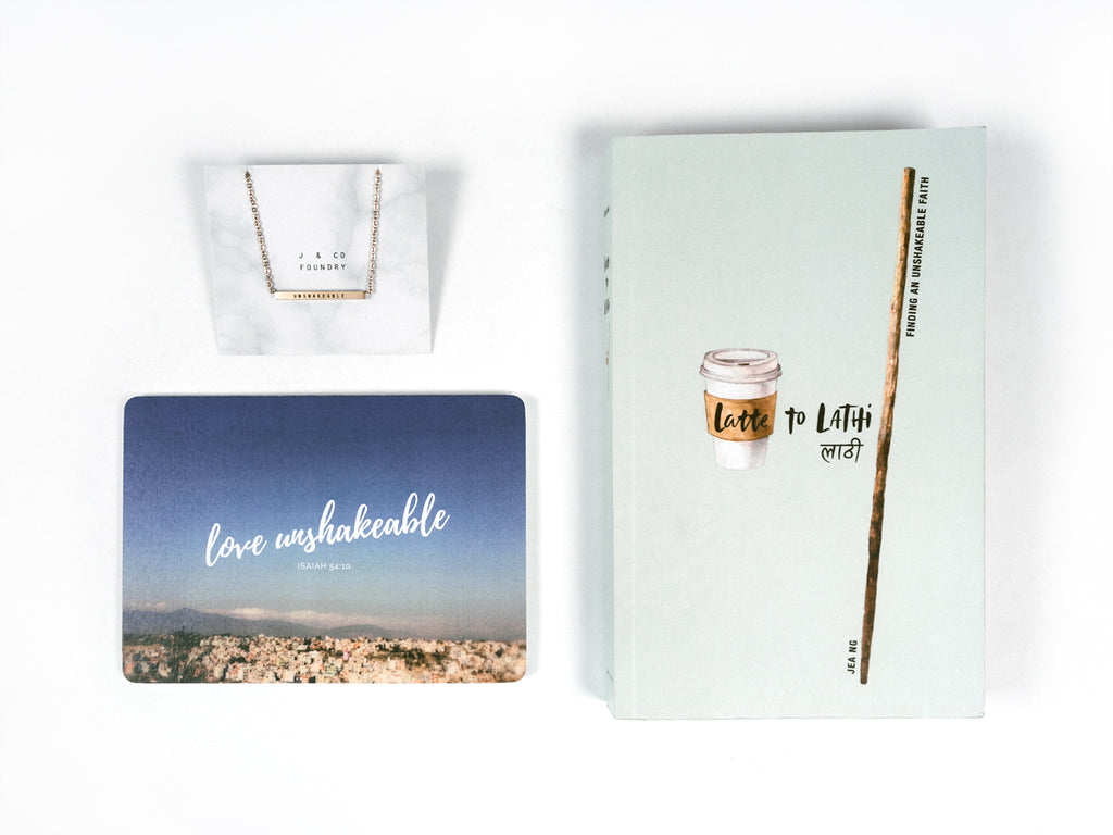 TCCO x JCO Bundle Deal - Latte To Lathi and Love Unshakeable {Book and Necklace}