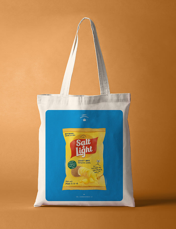 Salt & Light Chips {Tote Bag}