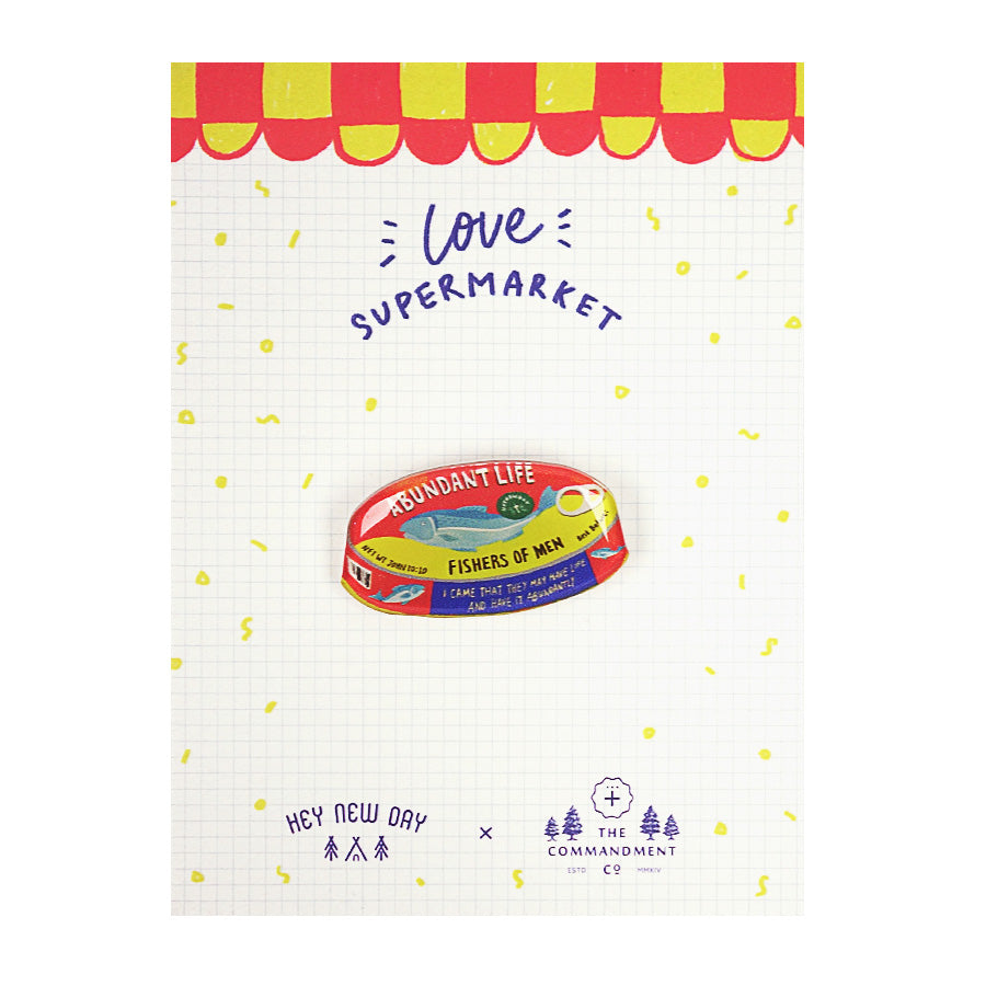 Abundant Life Canned Fish {LOVE SUPERMARKET Pins}