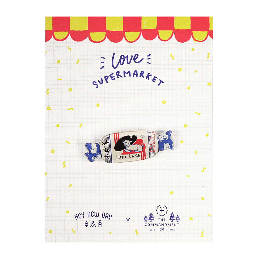 LOVE SUPERMARKET Pins Bundle