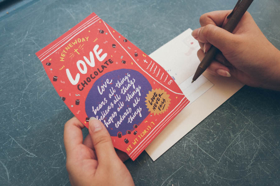 Love Chocolate {LOVE SUPERMARKET Card}