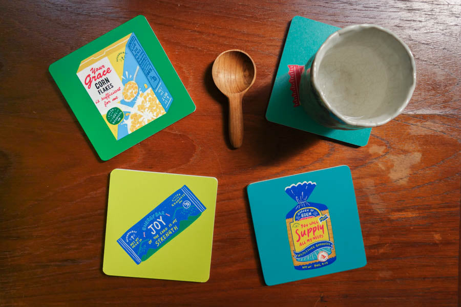 Joy Energy Bar | Coasters {LOVE SUPERMARKET}