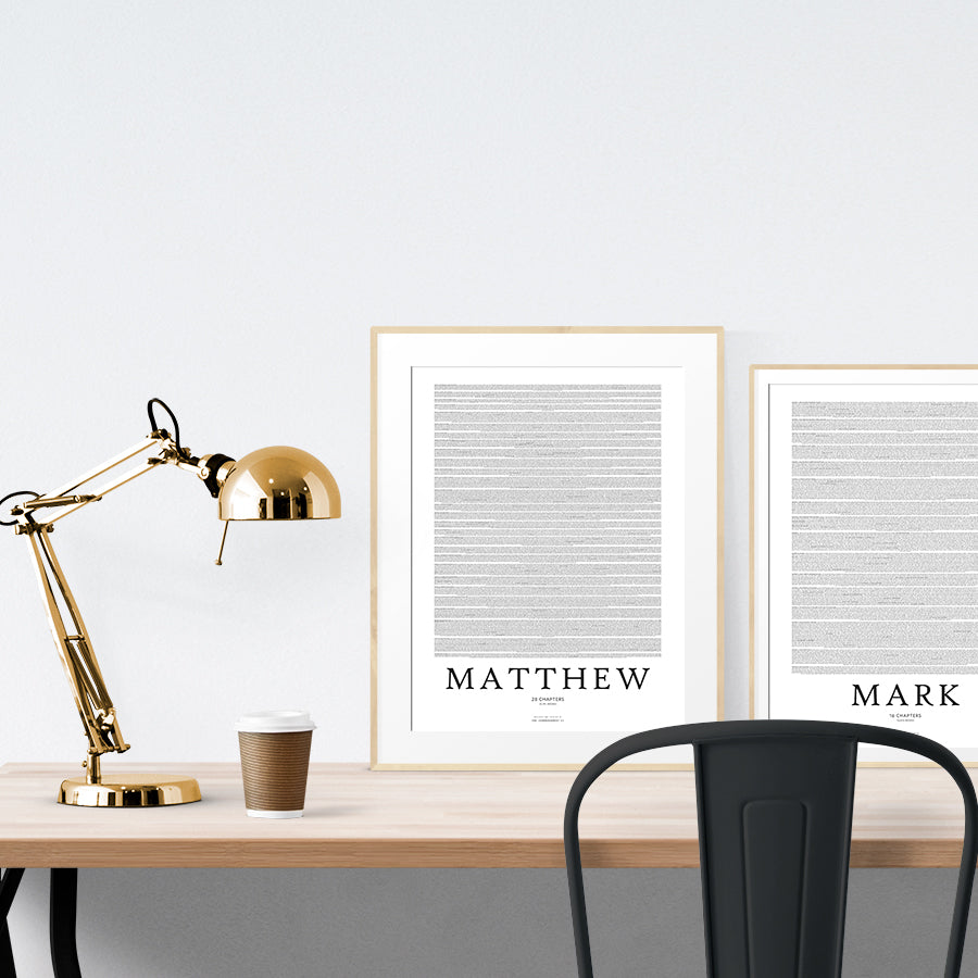 Gospel of Matthew {Poster}