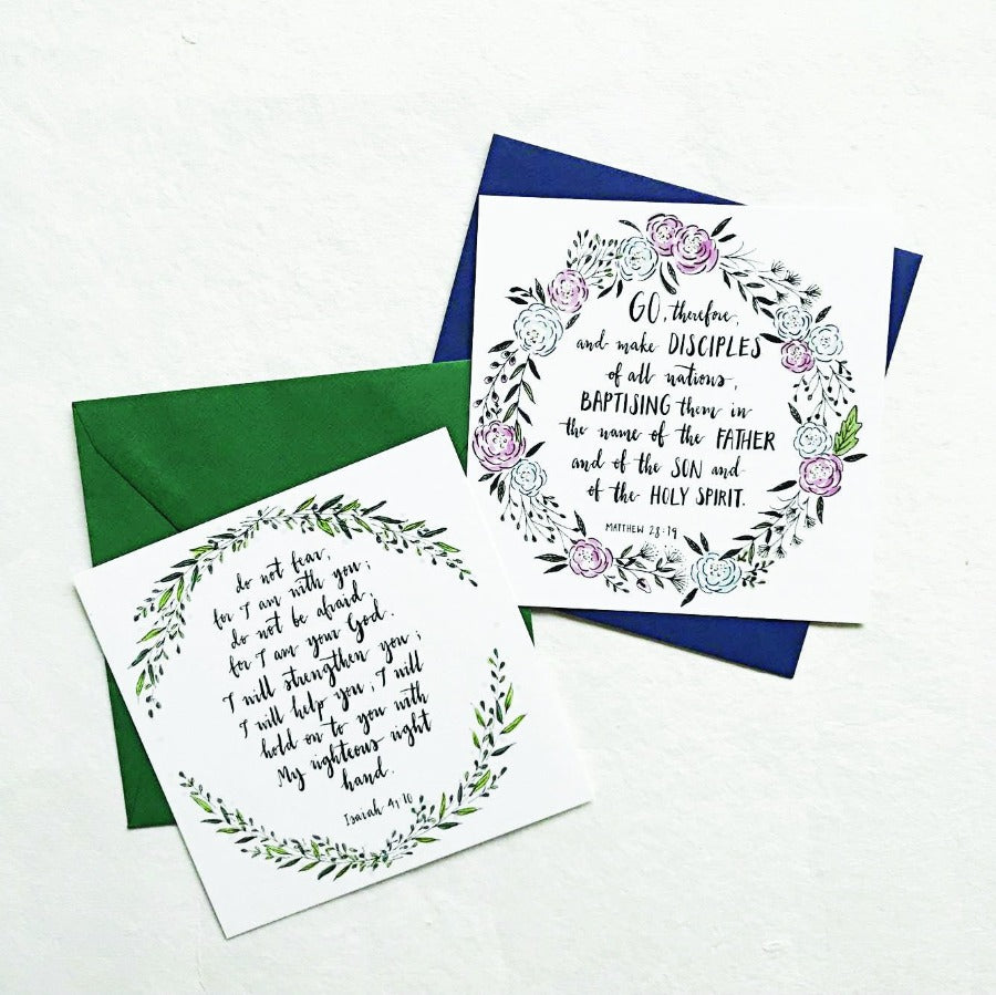 Rock & Fortress Psalm 18:2 | Greeting Cards