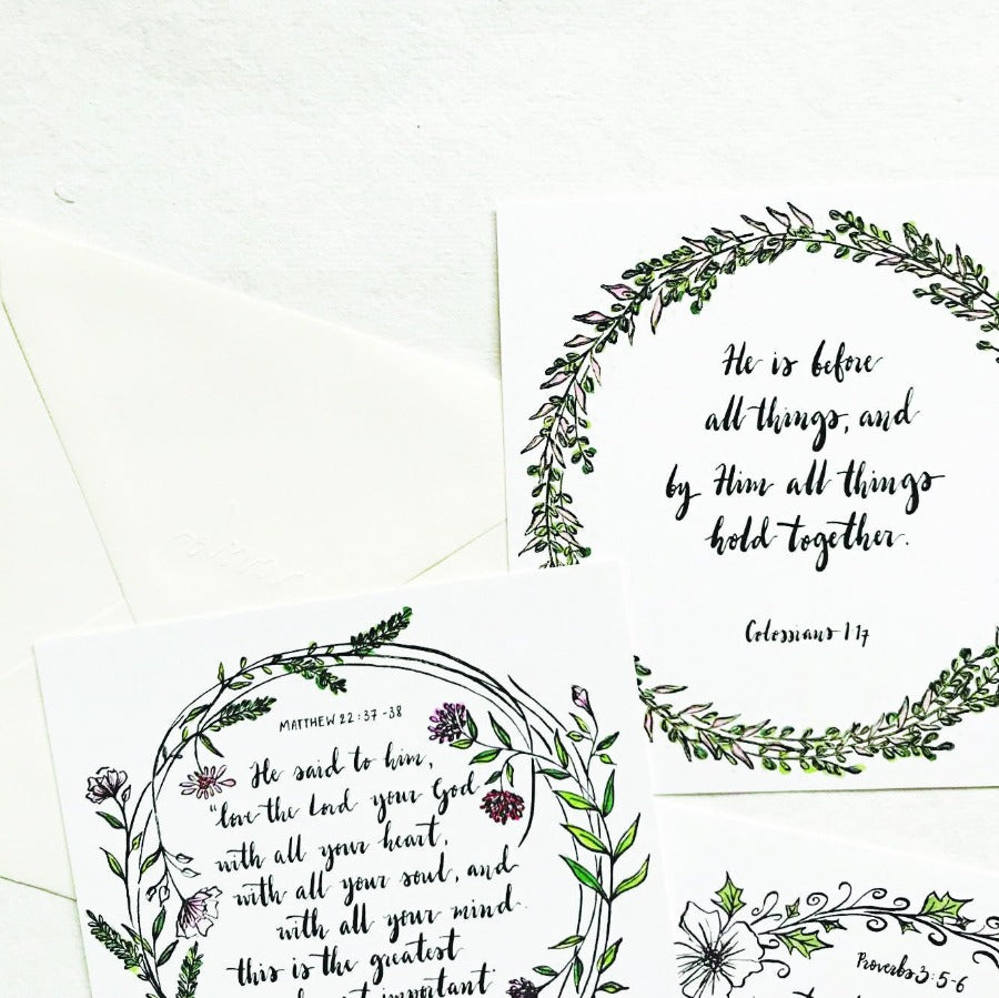 Strength and Honour Proverbs 31:25-27 | Greeting Cards