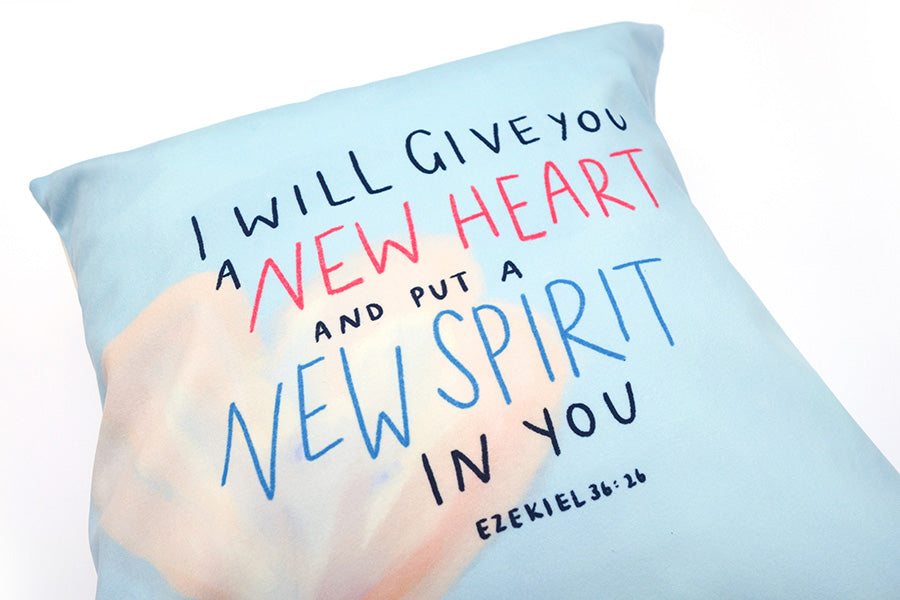 New Heart New Spirit {Cushion Cover}