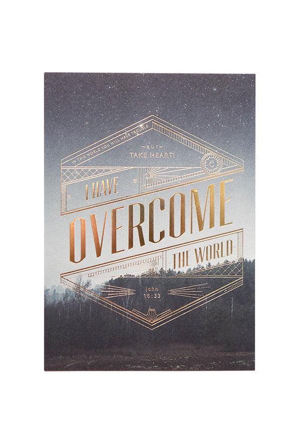 I Have Overcome The World {Card}