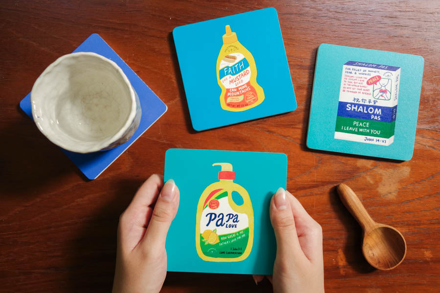 Wholesome Bread | Coasters {LOVE SUPERMARKET}
