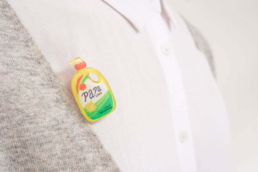 Papa Love Soap {LOVE SUPERMARKET Pins}