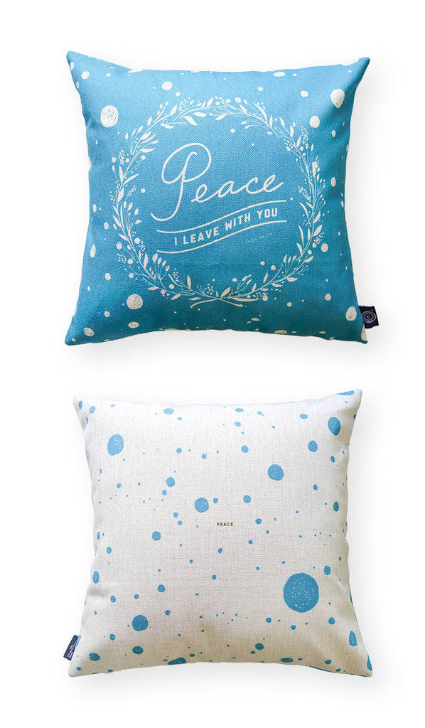 Peace I Leave With You {Cushion Cover}