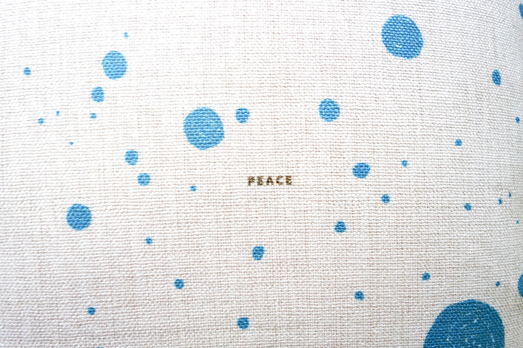 bring peace and happiness to your home today with this cushion cover which will bring a splash of colour and loving message to everyone who enter