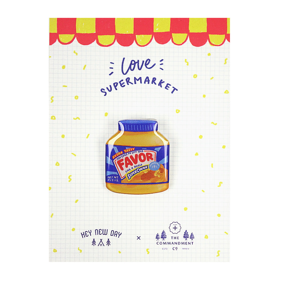 Favor Peanut Butter {LOVE SUPERMARKET Pins}
