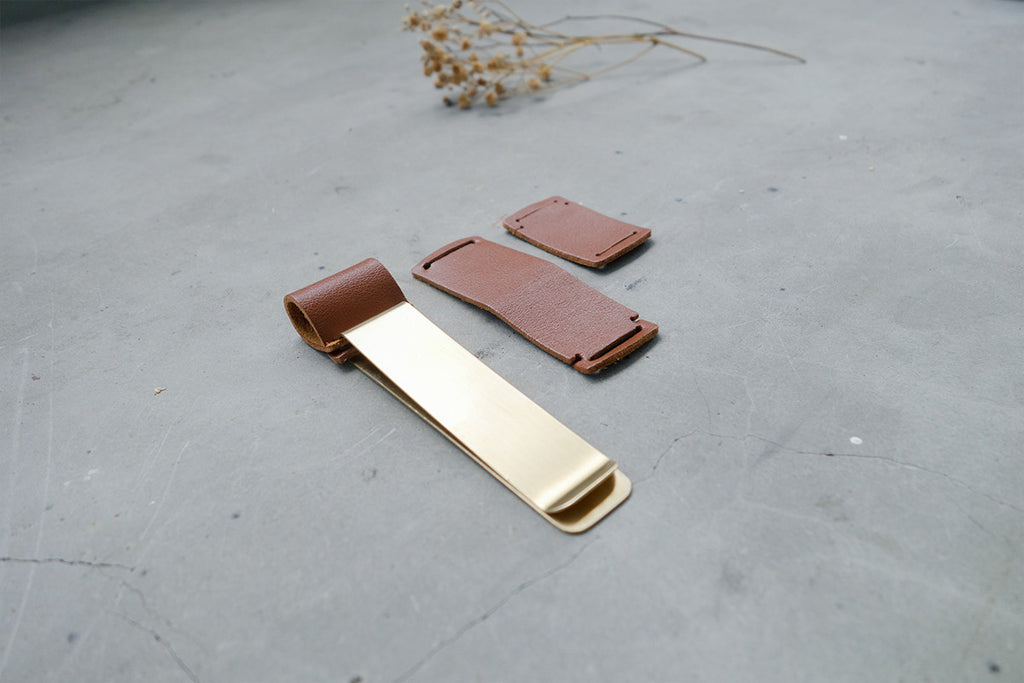Brass Pen Holder - Notebook