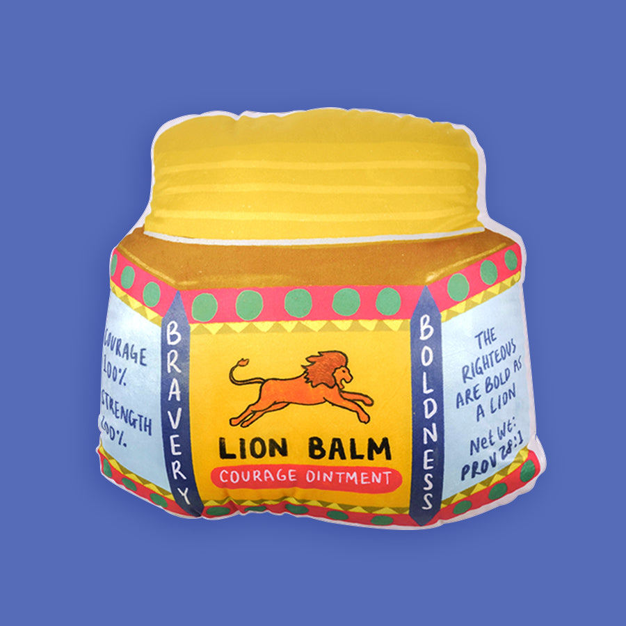 Courage Lion Balm {Plush Toy}