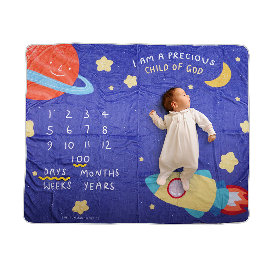 Child of God | Baby Photography Blanket