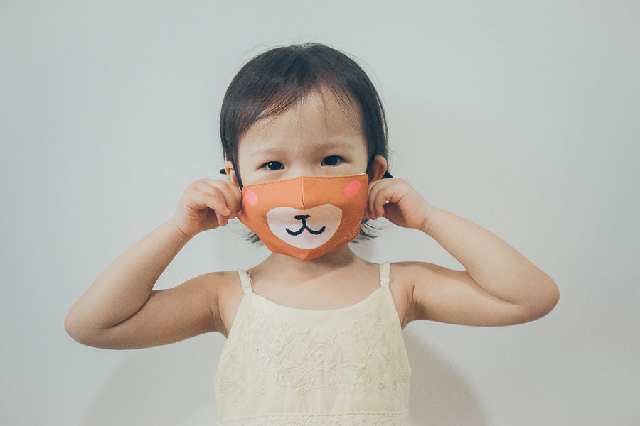 Little Bear | Angels Protect {Kids Face Mask}