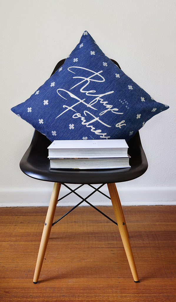 Refuge & Fortress {Cushion Cover}