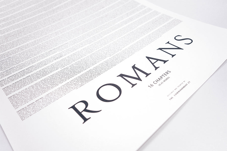 Book of Romans {Poster}