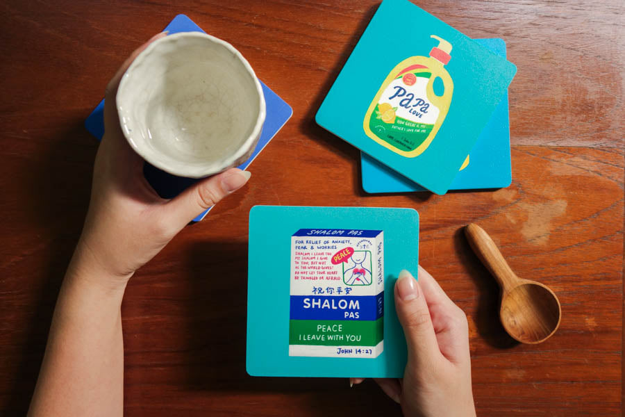 Papa Love Soap | Coasters {LOVE SUPERMARKET}