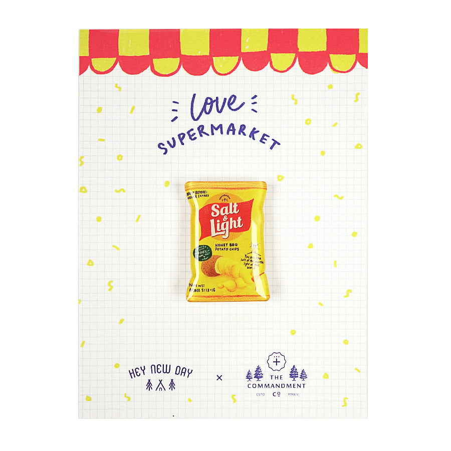 Salt & Light Chips {LOVE SUPERMARKET Pins}
