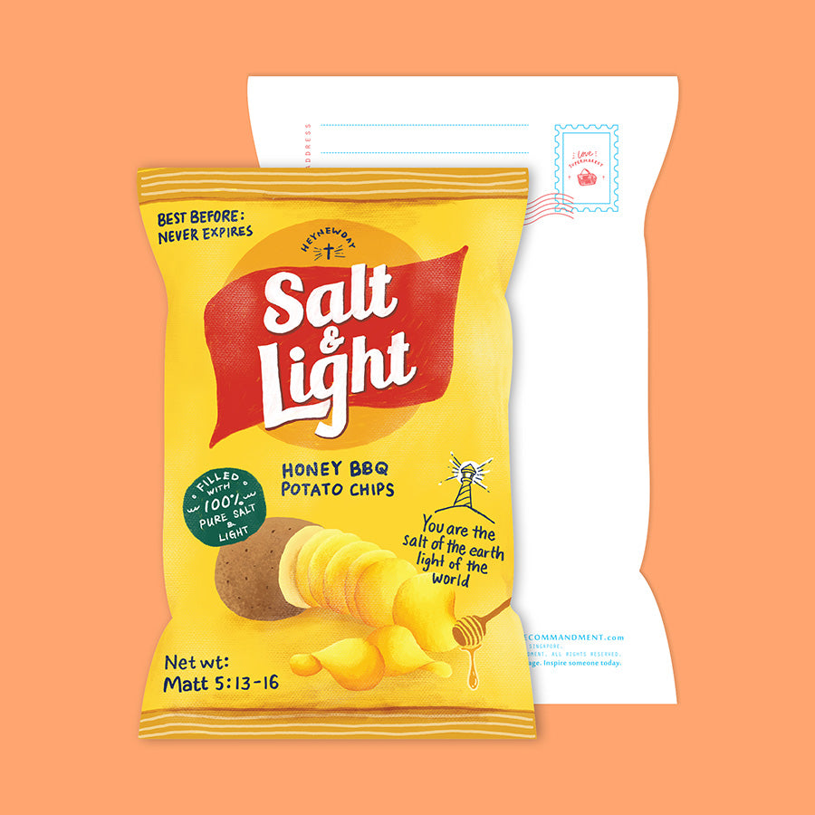 Salt & Light Chips {LOVE SUPERMARKET Card}