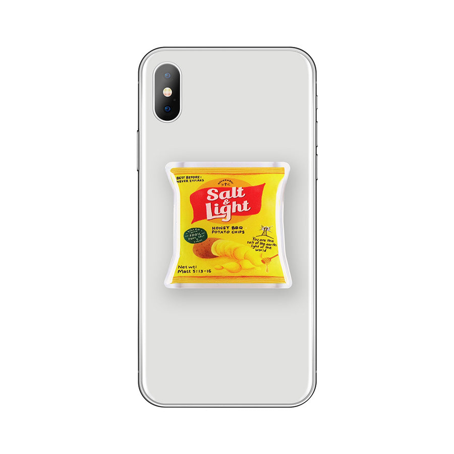 Salt & Light Chips {LOVE SUPERMARKET Phone Grip}