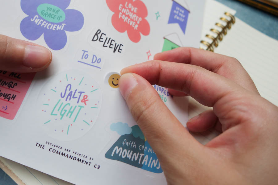 Believe | Journaling Sticker Sheet