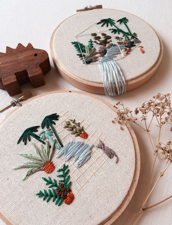 Create embroidery right at Wheniwasfour Playground Workshop