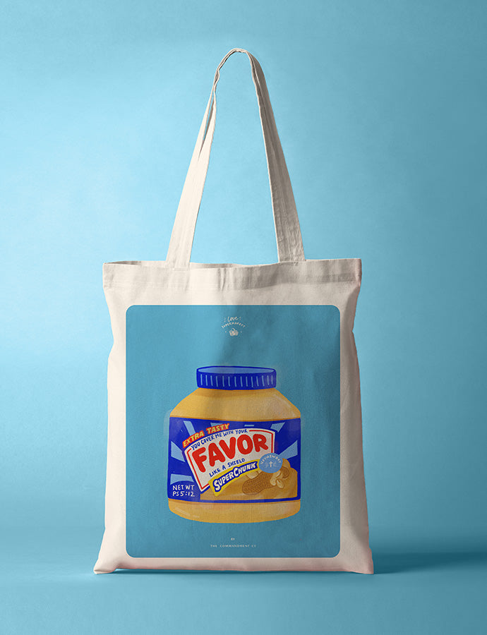 Favor Peanut Butter {Tote Bag}