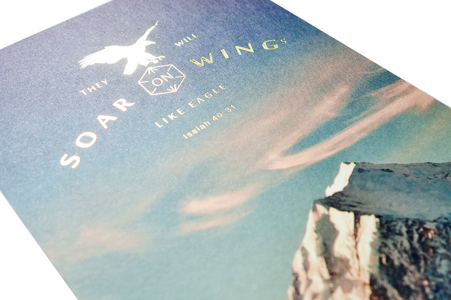 Soar On Wings Like Eagle {Card}