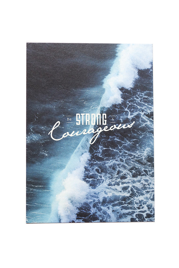 Strong & Courageous {Card}
