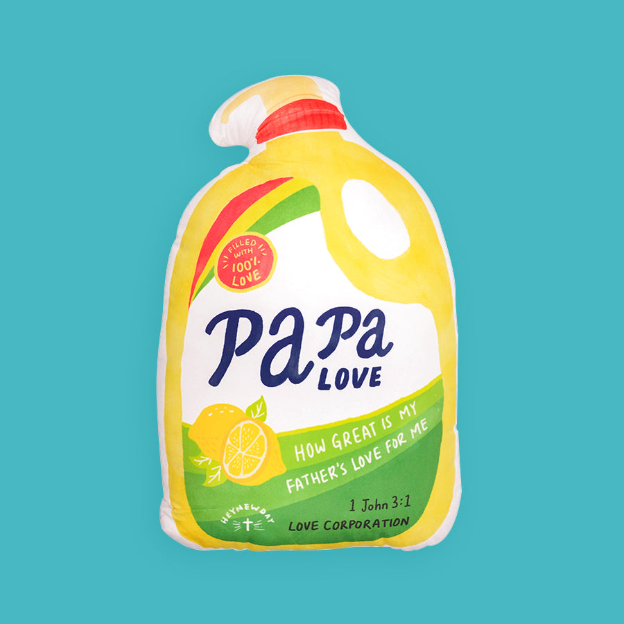 Papa Love Detergent Soap {Plush Toy}