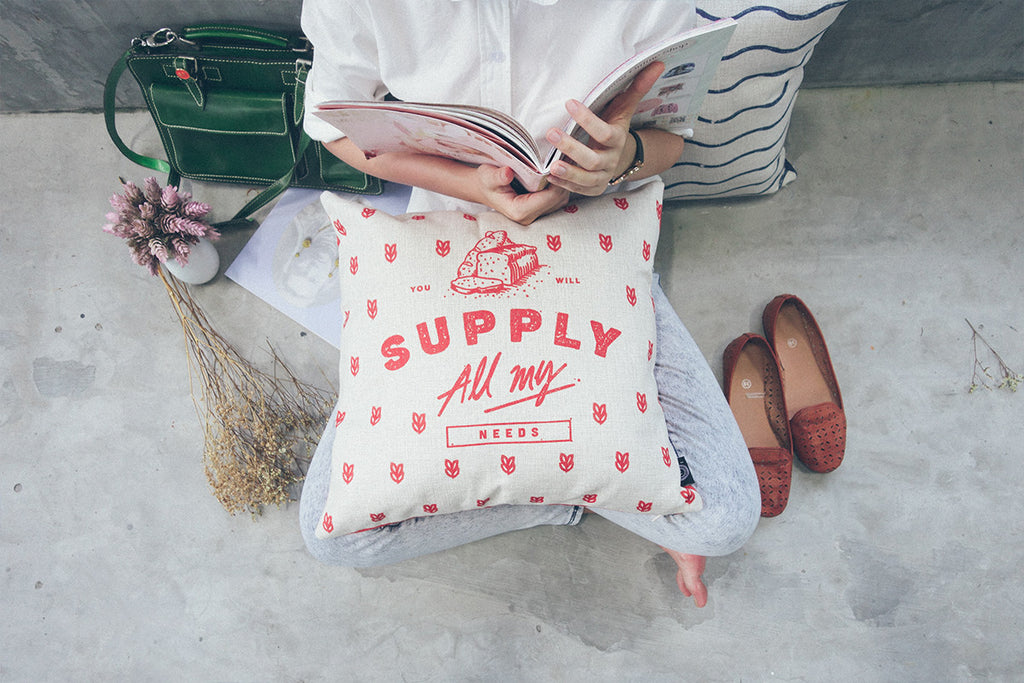 Supply {Cushion Cover}