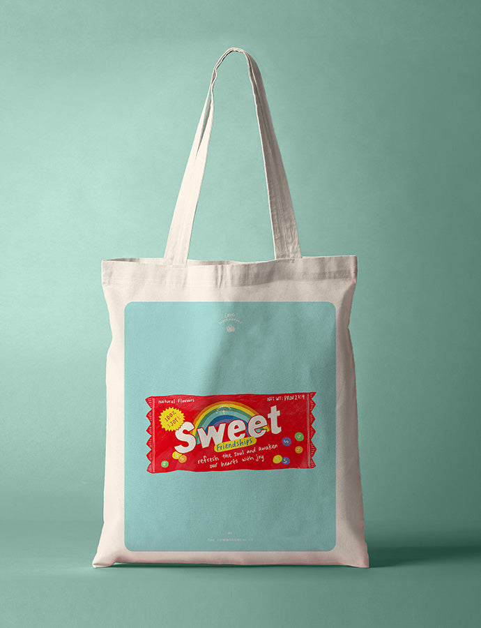Sweet Friendships Candy {Tote Bag}