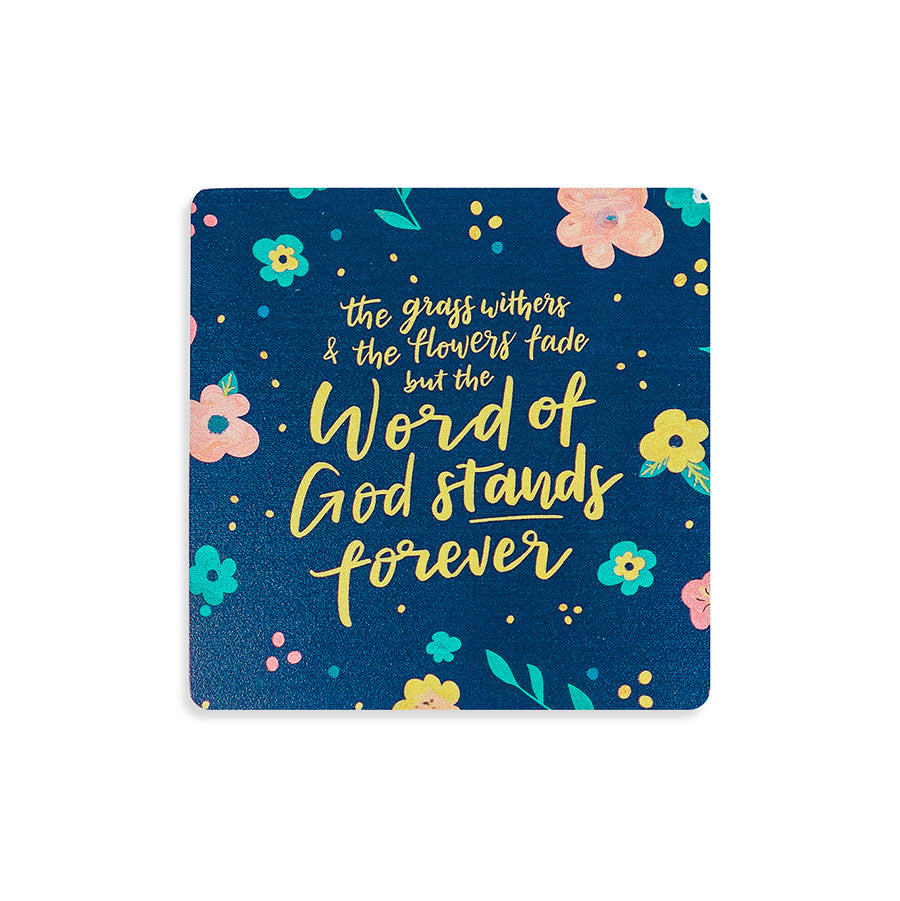 Word Of God Stands Forever {Coasters}