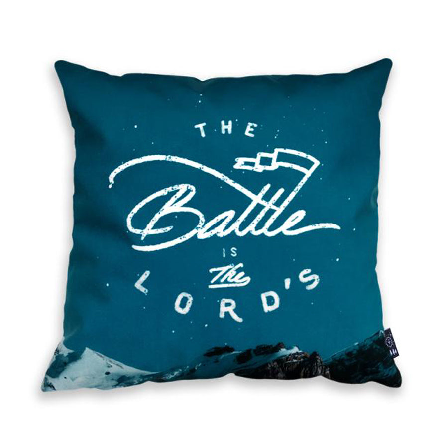The Battle Is The Lord's {Cushion Cover}