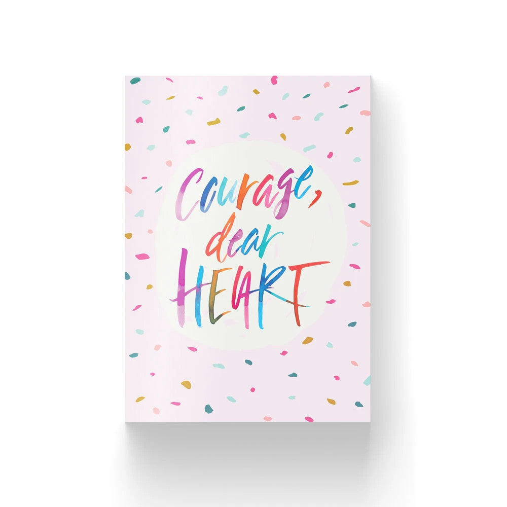 Meaningful greeting cards. Courage, dear heart. Great gift ideas for friends and loved ones