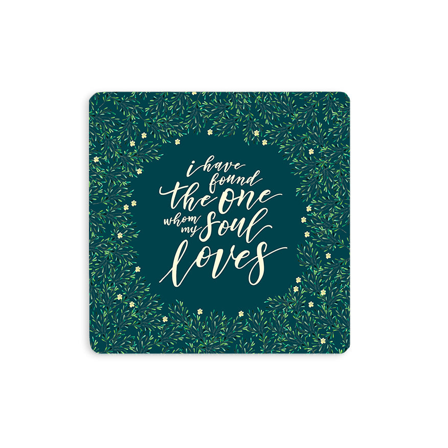 Whom My Soul Loves {Coasters}